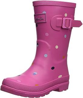 73055c5950c70 Amazon.com   Joules JNR Girls Welly Rain Boot (Toddler/Little Kid ...