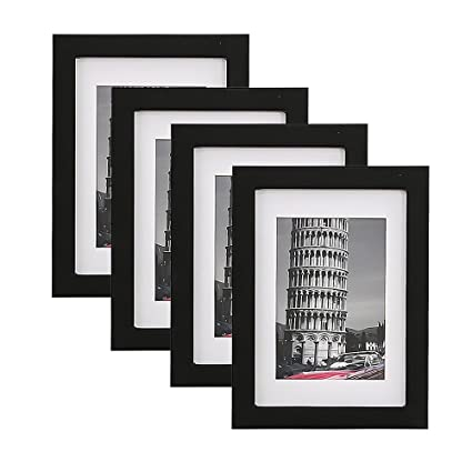 Amazon Wood Meets Color Wall Photo Frames With Real Wood And