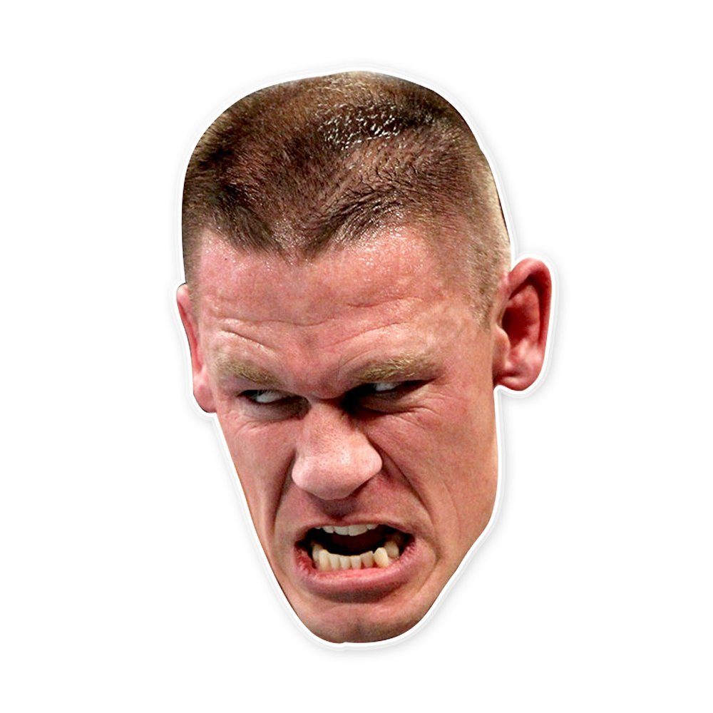 Savage John Cena Mask - Perfect for Halloween, Masquerade, Parties, Events, Festivals, Concerts - Jumbo Size Waterproof