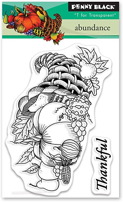 Gray penny black 40-646 Cling Stamp