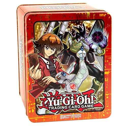 Yu-Gi-Oh! Cards- Shonen Jump 2018 Mega Tin A- - Set Tin Card
