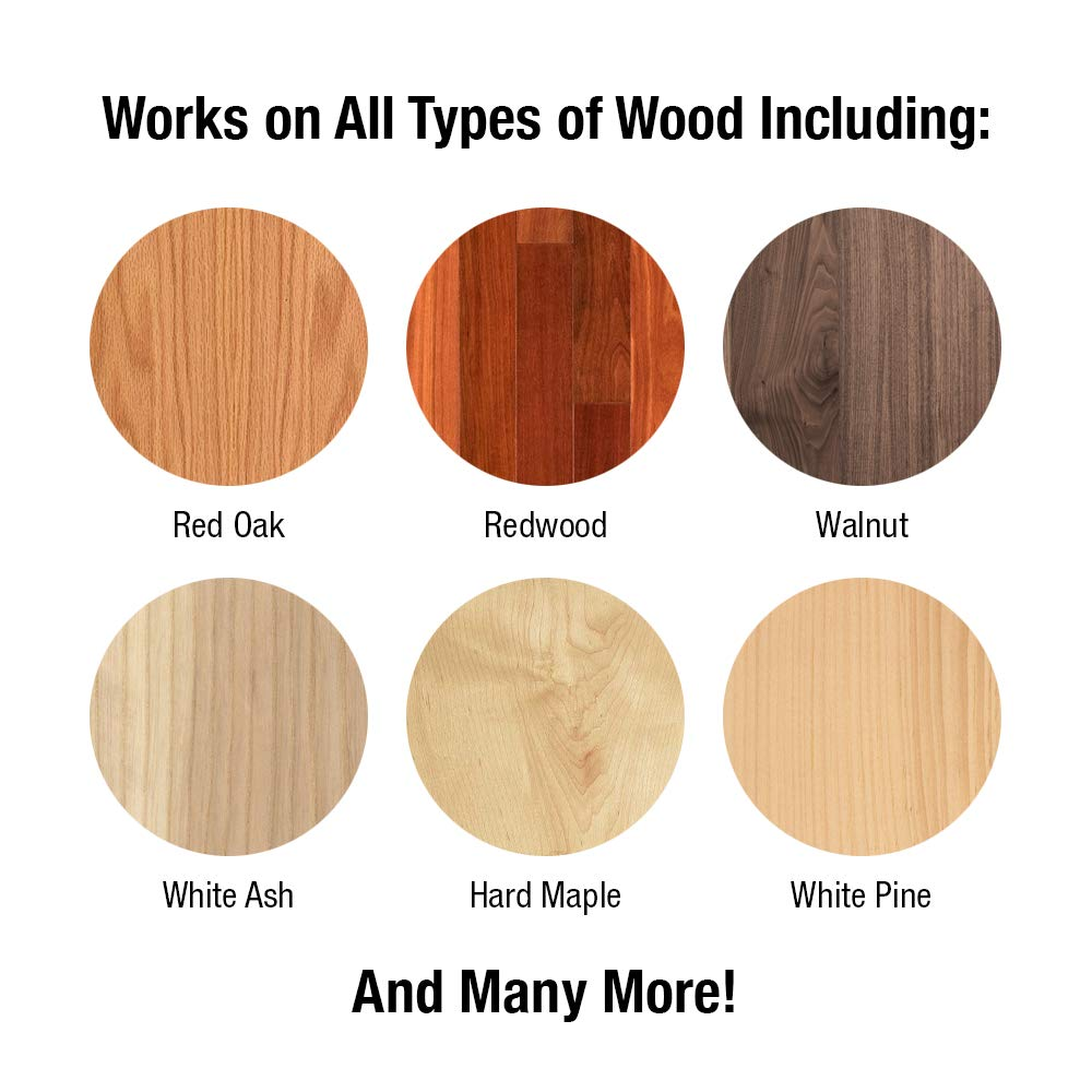 100% Pure Tung Oil Finish Wood Stain & Natural Sealer for All Types of Wood (12 x 32 oz Case) by FDC Chem (Image #4)
