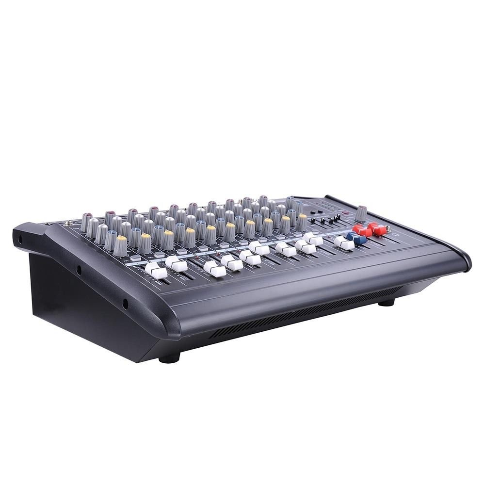 Amazon.com: 10-Channel Powered Mixer Pro Audio Digital Console: Musical Instruments