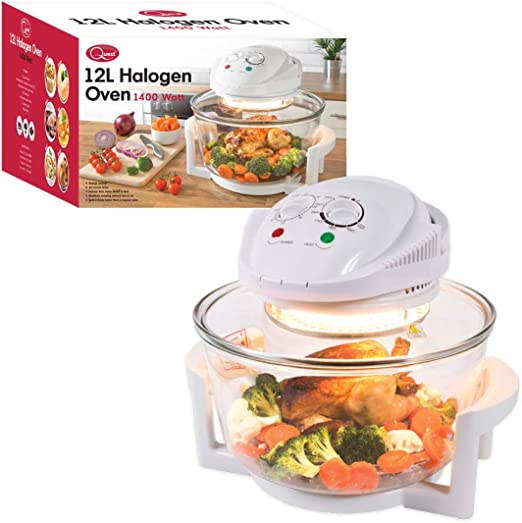 Quest 43890 Halogen Oven - Low-Fat Air Fryer