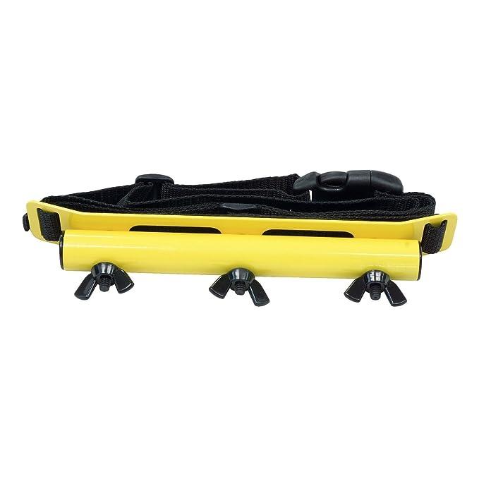 Anderson minelab Excalibur amarillo Kit de montaje de cadera con ajustable Cintura Cinturón: Amazon.es: Jardín