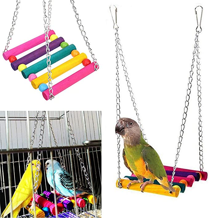 Cockatiels /& Parrotlets ORANGE PIPE Bird Toy 7-PT1512 for Parakeets