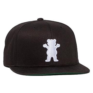 6fc290a4fe3fd Grizzly Cap - Og Bear Strapback black size  OSFA (One size fits any)   Amazon.co.uk  Clothing