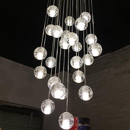 Injuicy lighting modern magic clear crystal ball pendant lamps injuicy lighting modern magic clear crystal ball pendant lamps shades bocci g4 led edison ceiling pendant aloadofball Images