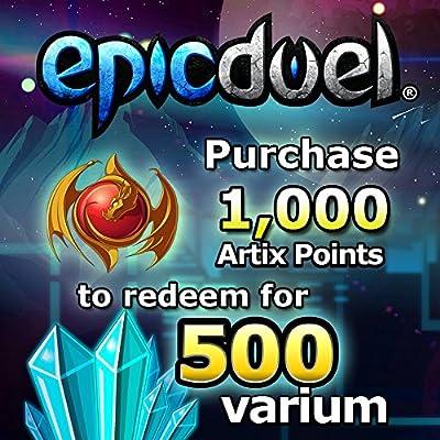 1,250 Varium Package: EpicDuel [Instant Access]