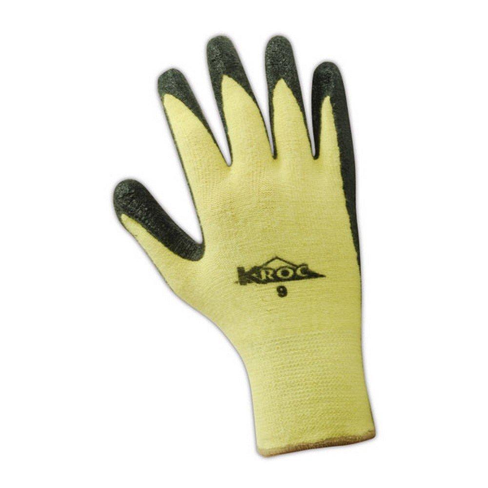 Size 8 Knit Wrist Cuff Nitrile Palm Coating MAGID K-ROC KEV4316 Kevlar Knit Glove 8.5 Length 12 Pair