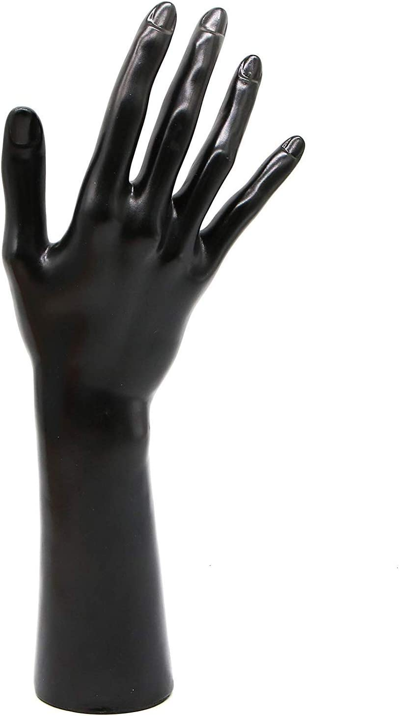GUCTOP Black Female Mannequin Hand Jewelry Display
