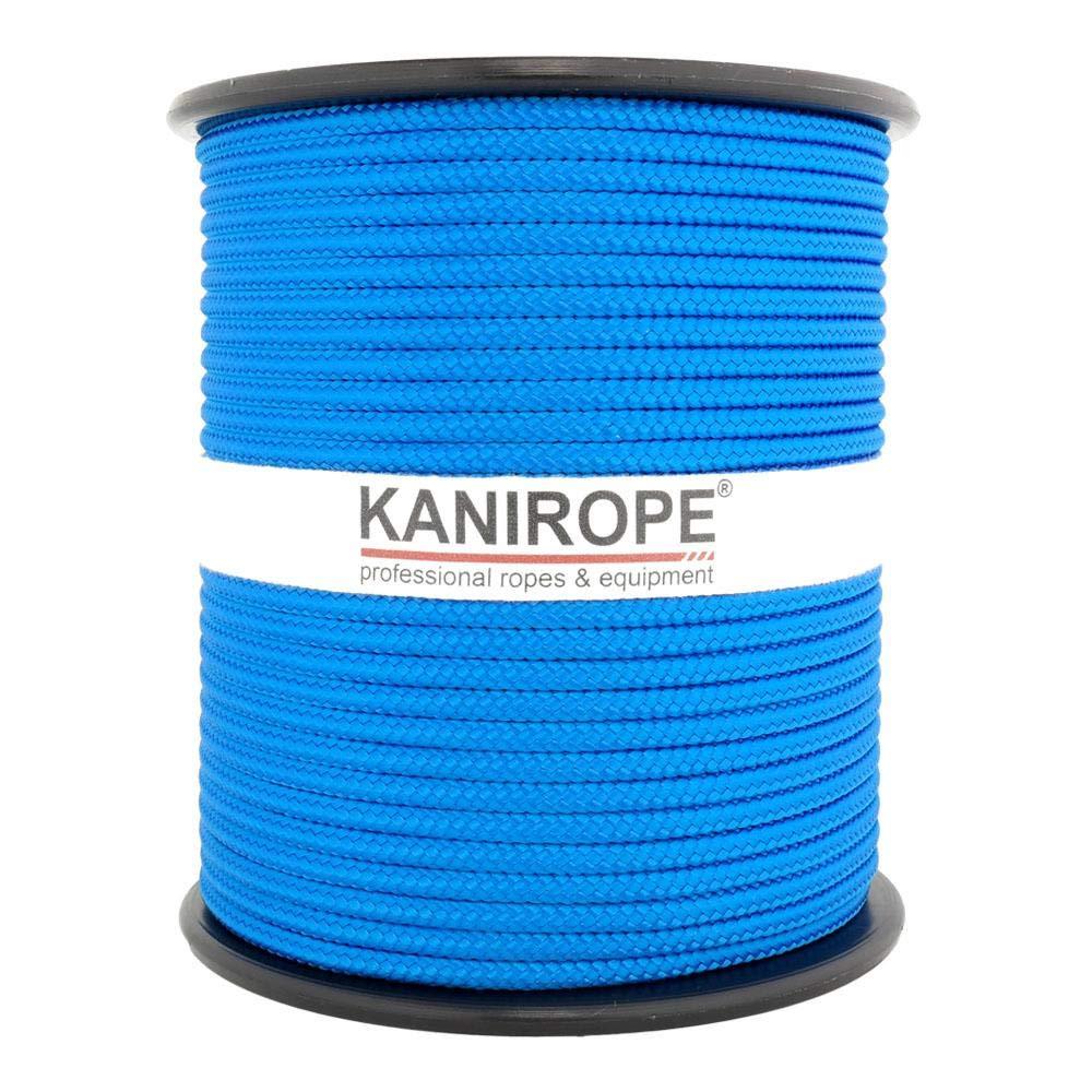 Kanirope/® PP Seil Polypropylenseil MULTIBRAID 5mm 100m geflochten Farbe Blau 0912