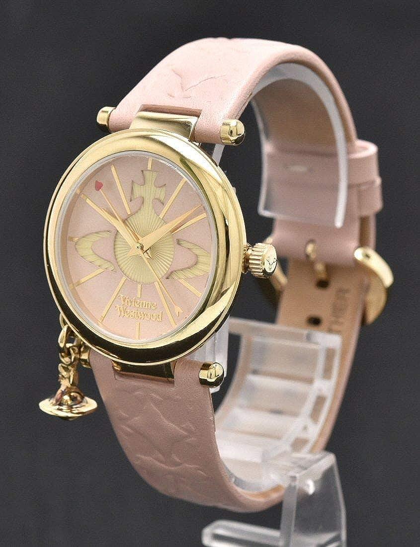 [ヴィヴィアン ウエストウッド] Vivienne Westwood オーブ GP ピンク文字盤 レディース クォーツ 腕時計 VV006PKPK []