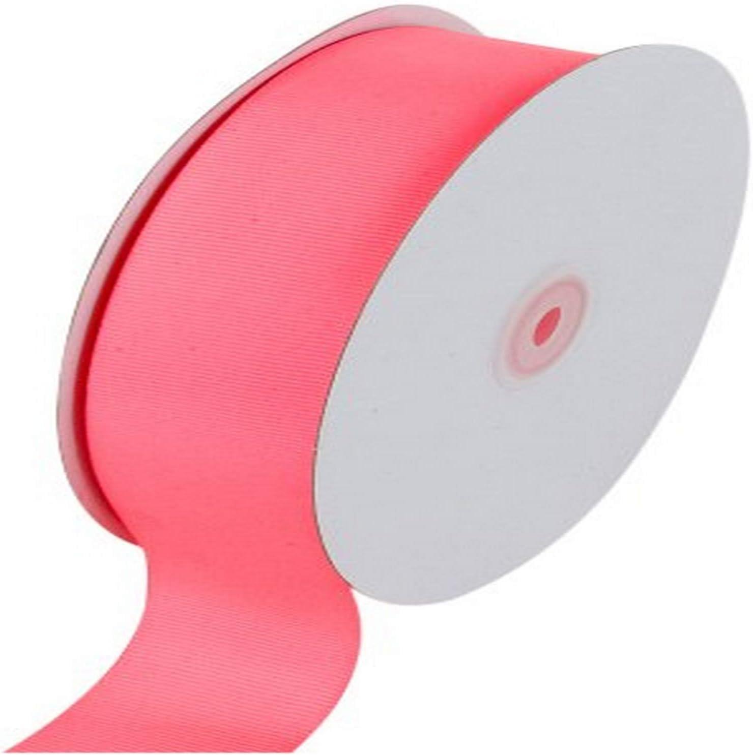 1-1//2-Inch by 50-Yard Fuchsia Creative Ideas Solid Grosgrain Ribbon
