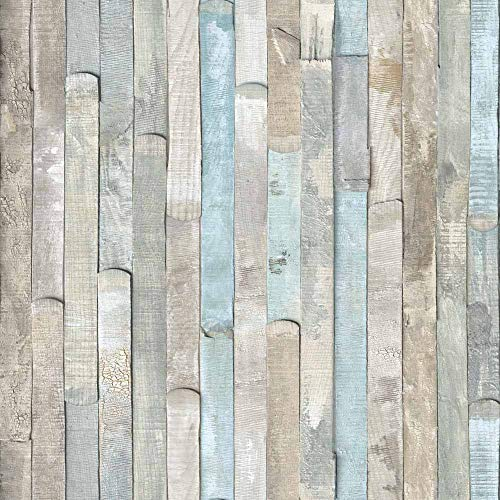 d-c-fix 346-0644-4PK Decorative Self-Adhesive Film, Beach Wood, 17
