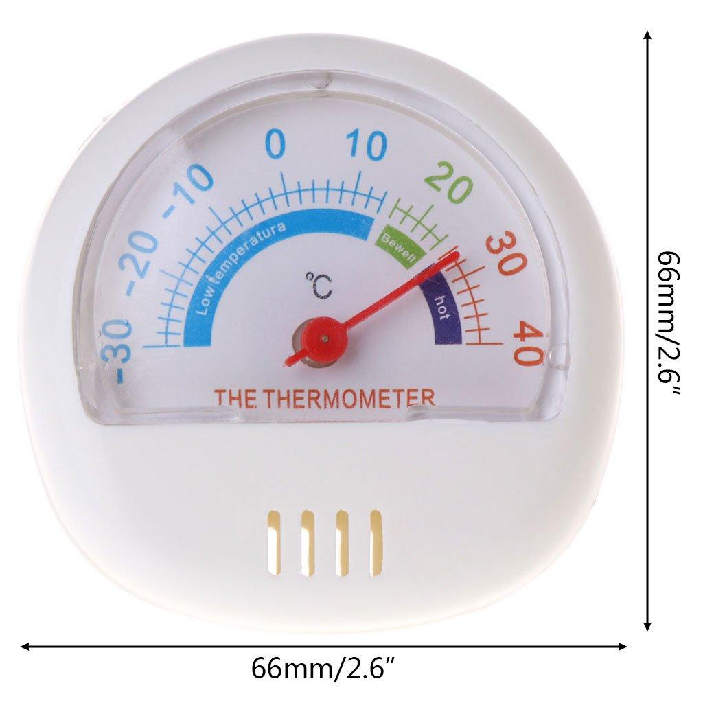 Fogun - Termómetro para nevera, frigorífico, congelador, interior ...
