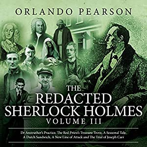 The Redacted Sherlock Holmes, Book 3 Audiobook