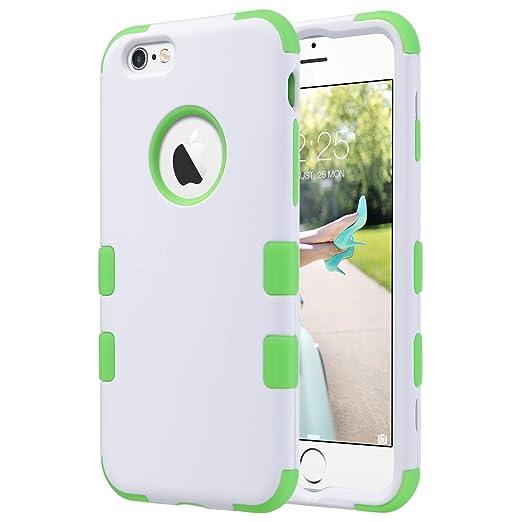 11 opinioni per iPhone 6S Cover, ULAK iPhone 6s Custodia ibrida a 3 strati in silicone a prova