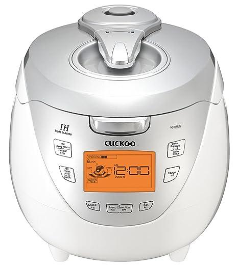 Amazon.com: Cuco crp-hr0867 F IH 8 tazas Presión Arrocera ...