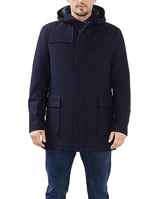 Mantel mit kapuze blau