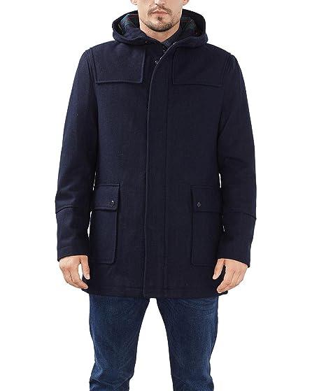 9bb0c77e787db8 ESPRIT Men's Mit Kapuze Coat, Blue (NAVY), X-Large: Amazon.co.uk: Clothing