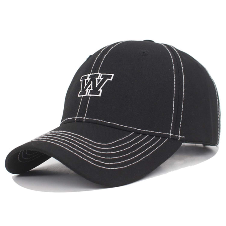 Xivikow Baseball Cap Men Caps Bone Women Hats for Men Gorras Letter W Casual Trucker Male Dad Baseball Hat Black at Amazon Womens Clothing store: