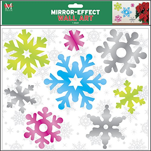 Mello Smello Mirror-Effect Winter Snowflake Wall Art]()