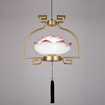 nouveau restaurant de style chinois lustre de lotus ttes simples table de salle manger