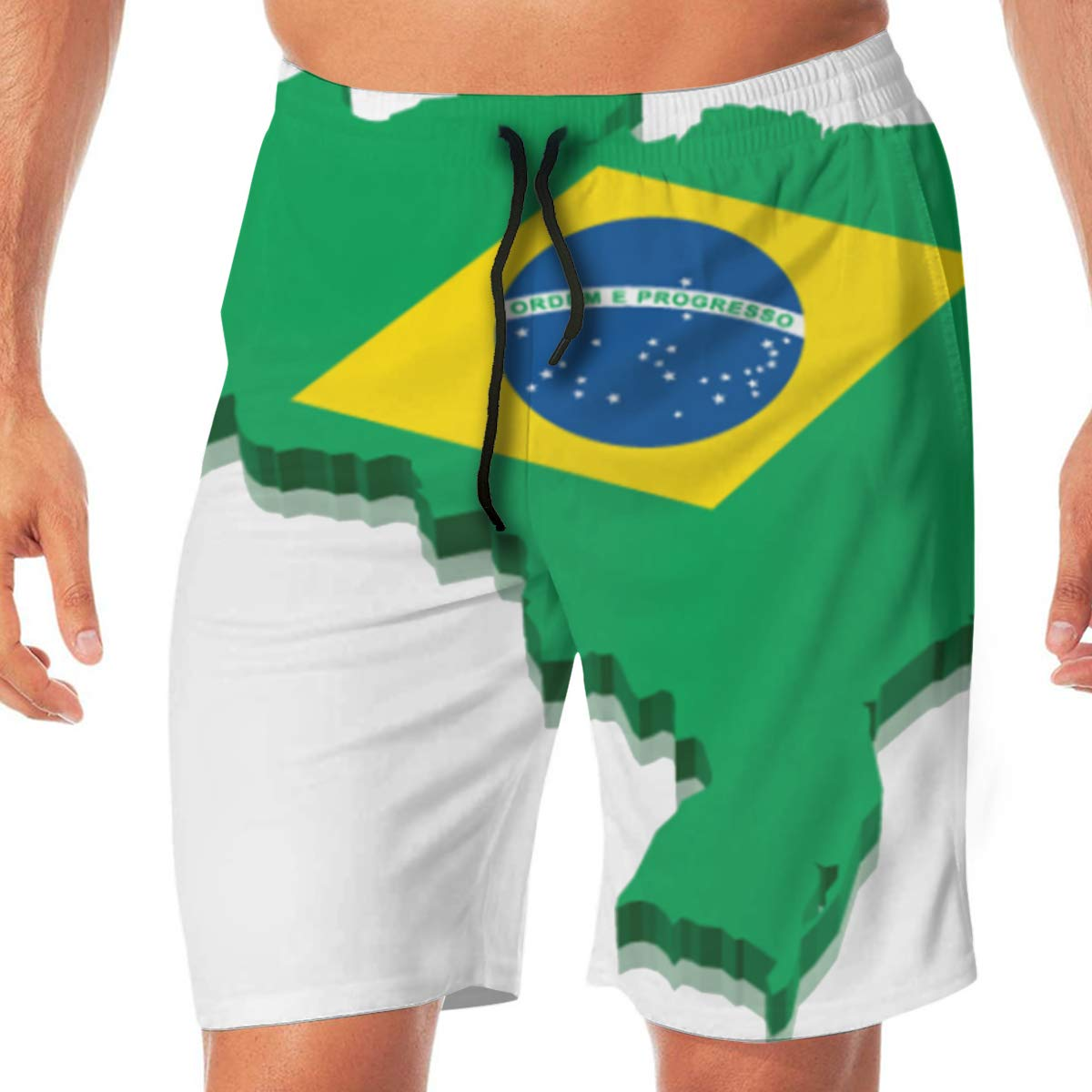 Woxianghe Mens Active Athletic Performance Shorts with Pockets Brazil