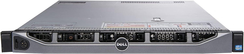 "Dell PowerEdge R620 Server 4-Bay SFF, 2X Intel Xeon E5-2670 v2 2.5Ghz (20-cores Total), 64GB RAM, 4X 500GB 7.2K SATA 2.5"" HDD, PERC S110 RAID, 4X 1Gb NIC, 2X 750W, Bezel + Rails Included (Renewed)"