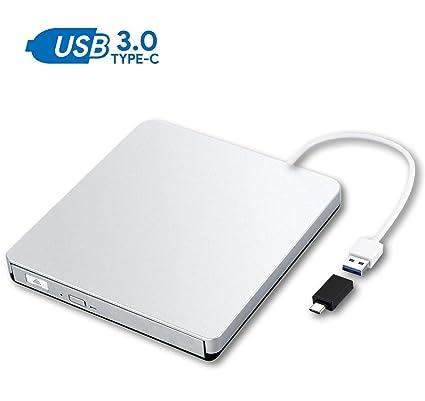 Unidad externa para CD/DVD con interfaz USB 3.0 y tipo C ...