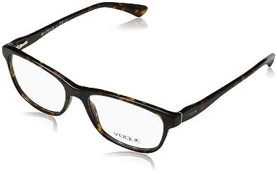 af06e018db Image Unavailable. Image not available for. Color  Vogue Eyeglasses VO2908 W656  Dark Havana ...