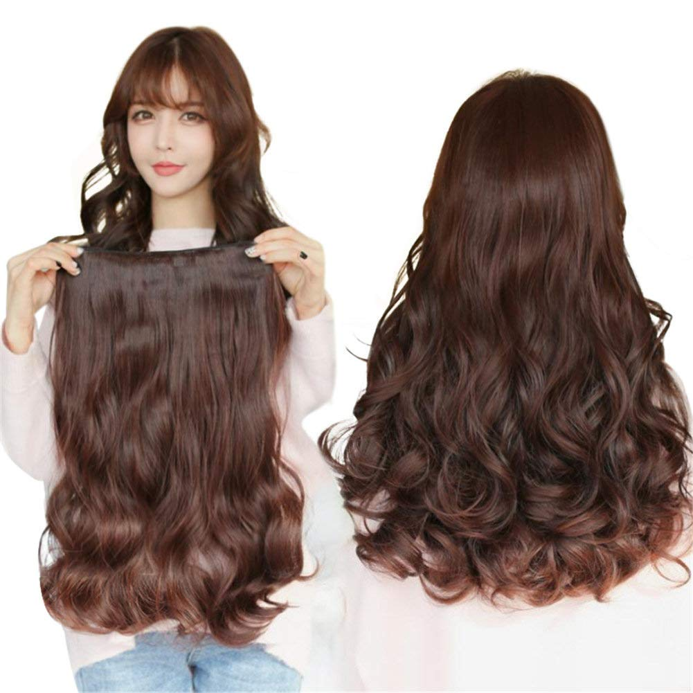 Easy Wear One Piece Clip in Hair Traceless OFFicial mail order Body Extension Phoenix Mall Human