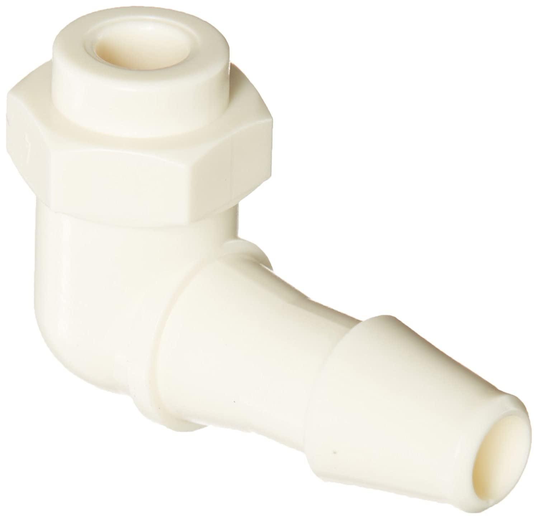 White Nylon 1//8ID Tube Value Plastics Elbow Connector 1//8ID Tube Classic Barbs