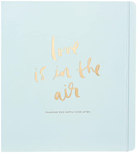 b83333db2a1 Amazon.com : Kate Spade New York Bridal Planner, Love is in The Air  (167830) : Office Products
