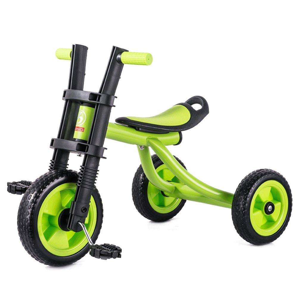 子供の三輪車バイク2-5歳の赤ちゃんのおもちゃ赤ちゃんのキャリッジキッズバイク、緑、赤、青 ( Color : Green ) B07C7GHGB5