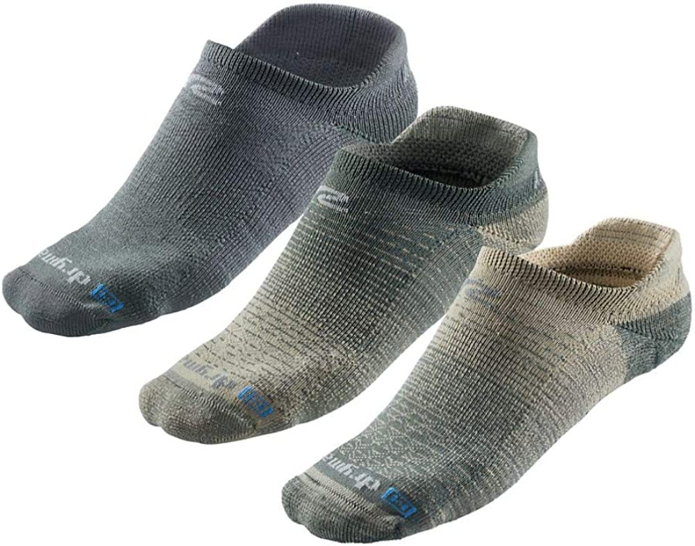 Drymax R-Gear No Show Running Socks for Men & Women (3-pairs)