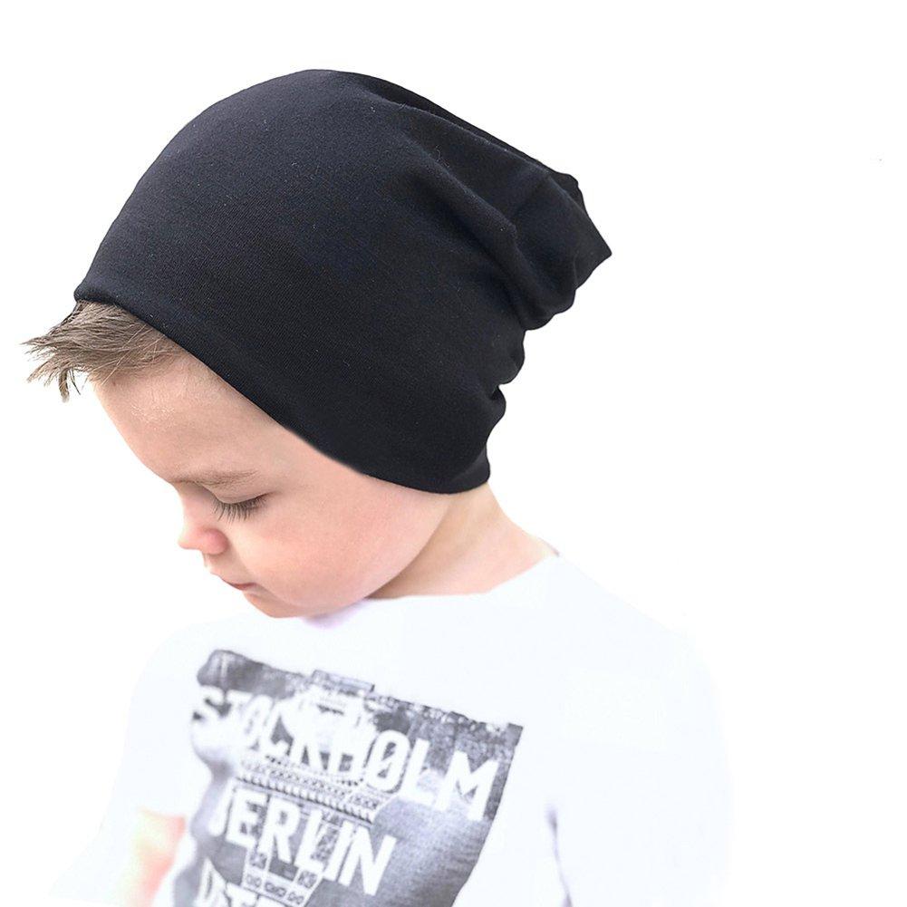 Boomly Autunno e Invernale Caldo Morbido Cappello in Cotone Slouchy Berretto per Bambino Beanie Cappello