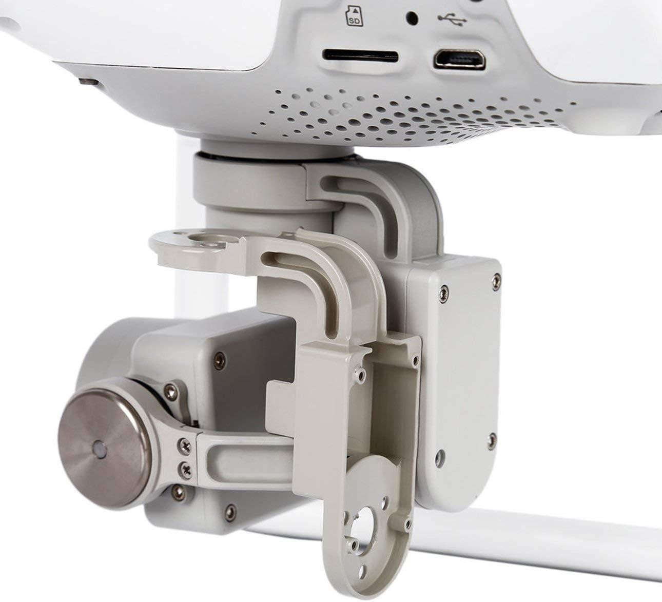 Ballylelly Support de cam/éra pour nacelle sup/érieure//Support de Pied Support antid/érapant Moteur de Lacet//pi/èce de Rechange de Moteur de Rouleau pour DJI Phantom 4 Pro Drone