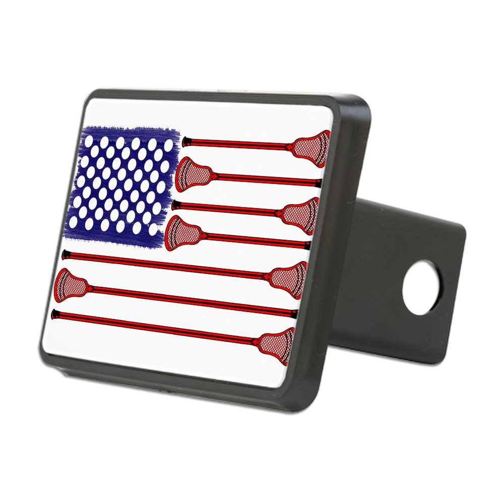 CafePress Lacrosse Americasgame Trailer Hitch Cover, Truck Receiver Hitch Plug Insert by CafePress