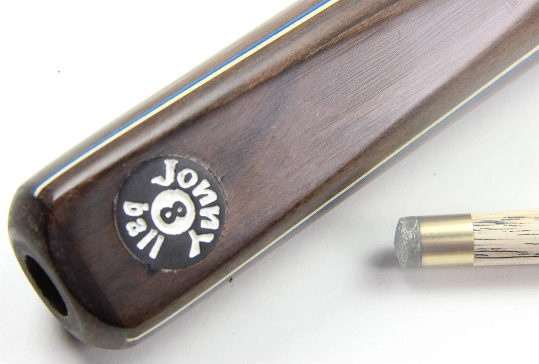 Jonny 8 Ball BLUE VIPER 3 Section RSS Ash Pro Pub Pool Cue 8mm Tip 17oz to 20oz
