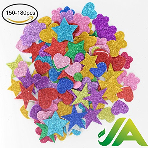 150 180 Stickers Assorted Adhesive Decorative