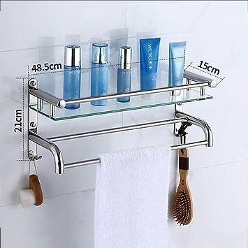 Eqeq Badezimmer Regal Rack Waschraum Mit Dusche An Der Wand