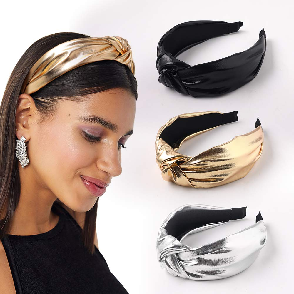 Hair Accessories for Women Girls Hairband for Women Vintage Faux Pearl Lace Bow Tie Headband Hair Band