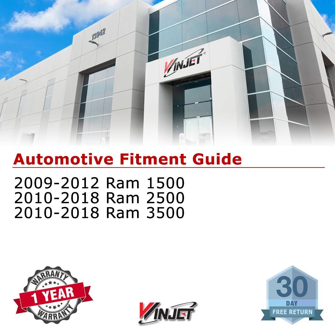 Driving Fog Lights Winjet WJ30-0489-09 OEM Series for 2009-2018 RAM