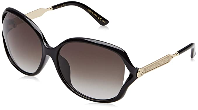 Gucci GG0119S 002 Gafas de Sol, Marrón (Avana/Brown), 59 ...