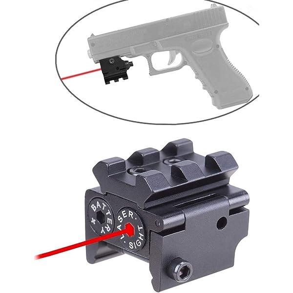 Tactical Laser Dot Sight Scope Mount Gun Rifle Pistol Optic Visible Beam Light