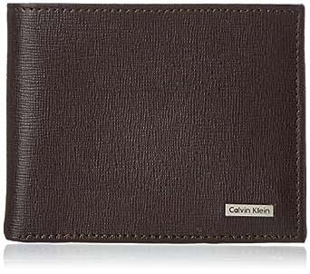 Calvin Klein Men's Calvin Klein Passcase Wallet, Brown, One Size