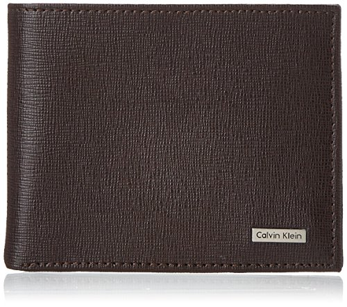 - Calvin Klein Men's Calvin Klein Passcase Wallet, Brown, One Size