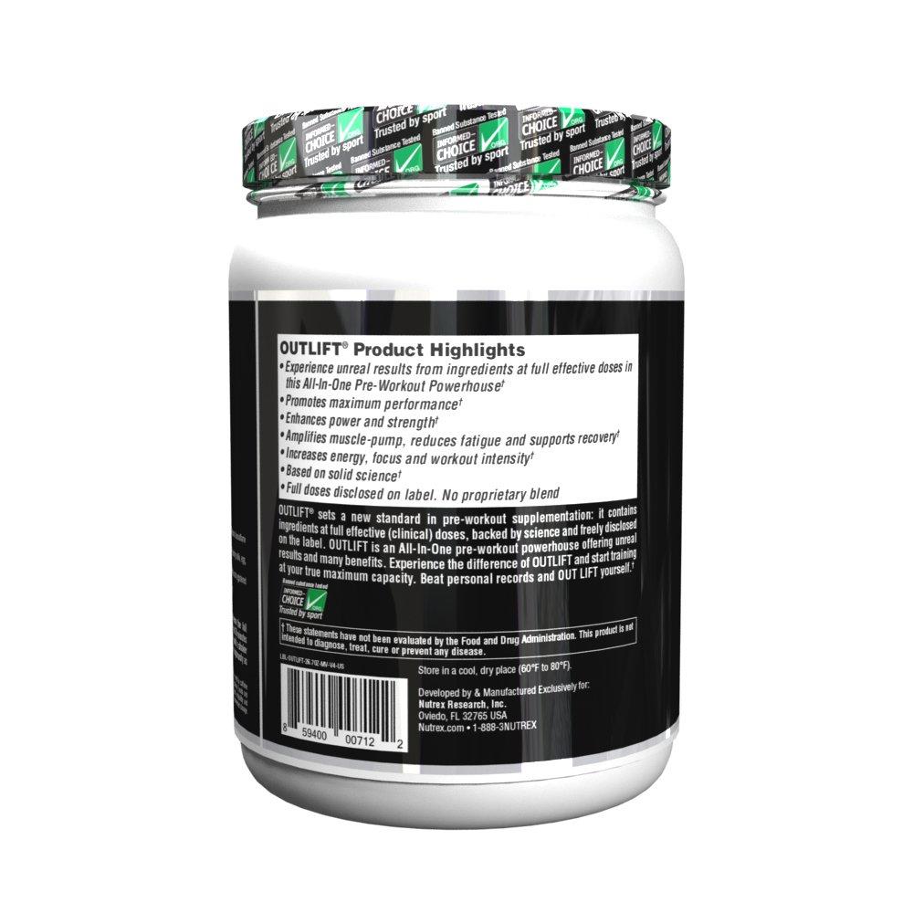 Amazon.com: Nutrex Research Outlift Bonus - Caseta de ...